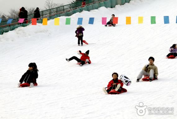 Bukit Kereta Salju Seoul Land