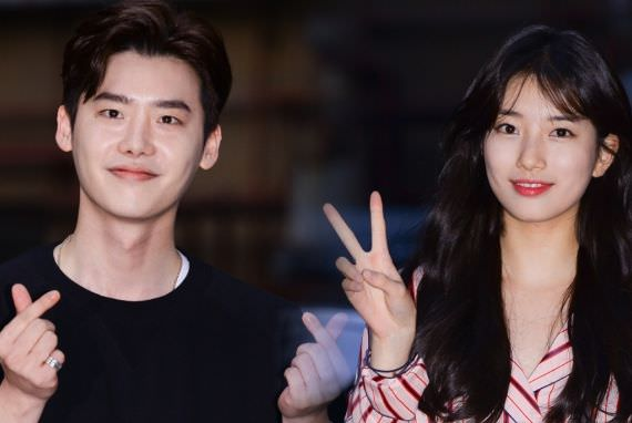 Lee Jong Suk dan Suzy Terlihat Menghadiri Pesta Perpisahan Drama 'While You Were Sleeping'