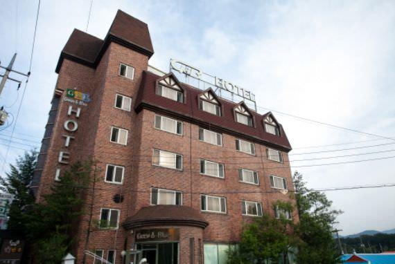 Hotel Green & Blue - Goodstay