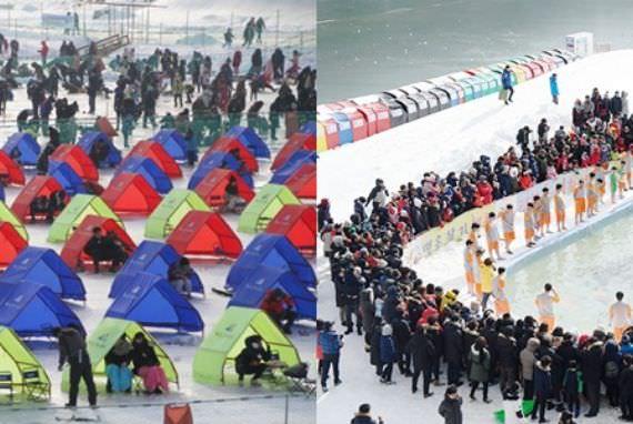 Dua Festival Musim Dingin Unik dan Menarik di Korea