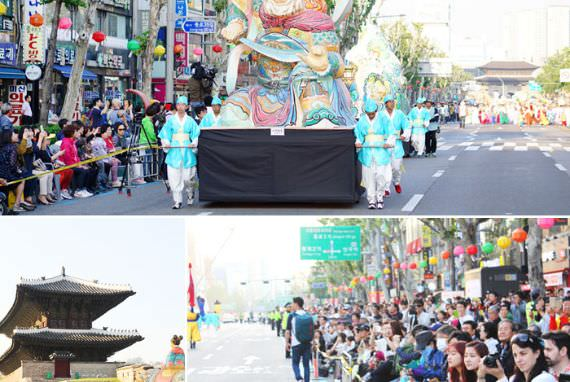 Parade di Jalan dengan Tampilan Visual yang Cantik