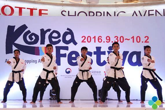 Atlet Taekwondo Indonesia, N-Lions Tampil Gagah di Korea Festival 2016