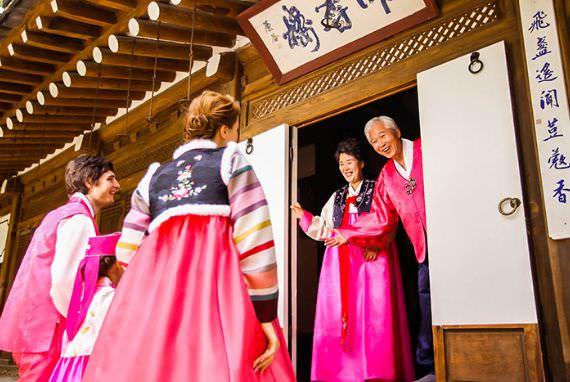 Tradisi saat Chuseok