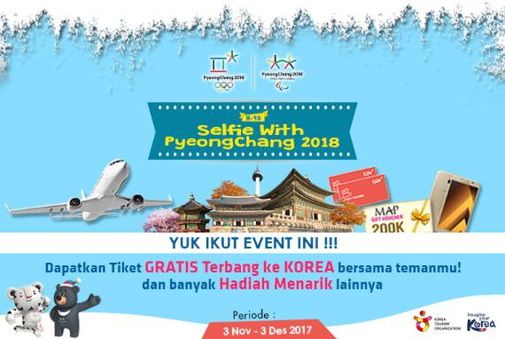 EVENT - [H-98] Selfie with PyeongChang 2018