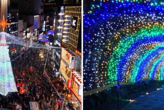 Menikmati Festival Natal di Korea
