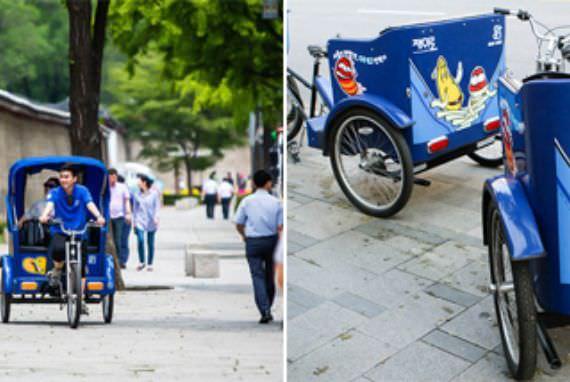 Seoul Memperkenalkan Layanan Baru Berupa Sepeda Becak Bagi Wisatawan!