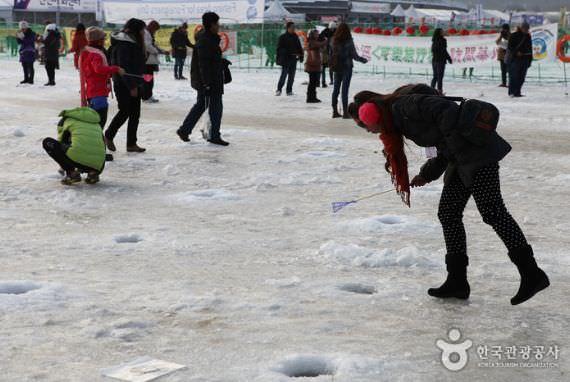 Festival Es Hwacheon Sancheoneo (Ikan Tawar Gunung)
