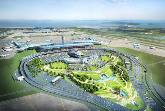 Terminal 2 Bandara Internasional Incheon