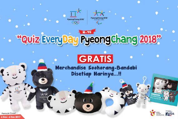 EVENT - [H-95] Quiz Everyday PyeongChang 2018