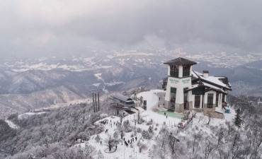 Yong Pyong Resort Barwangsan Mountain