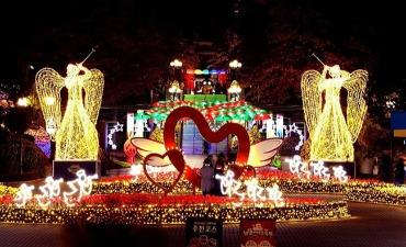Festival Cahaya Bintang E-World Mempersembahkan Parade Bunga Cahaya