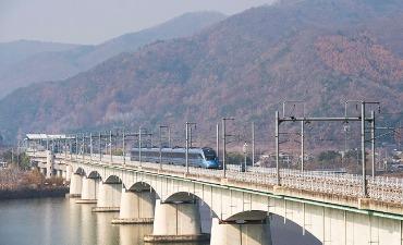 Kereta KTX Sekarang Beroperasi di Jalur Jungang