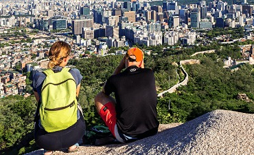 Hiking di Sekitar Seoul