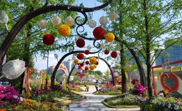 Bunga-Bunga Indah Tersebar di Seantero Hortikultura Internasional Goyang Korea