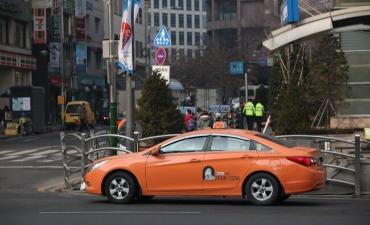 Kenaikan Tarif Dasar Taksi di Seoul